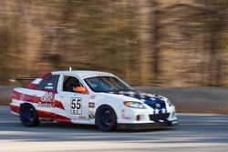 #55 All Out Racing USA 2004 Maza P Protega red/wt/b: Robert Frost, John DeBarros