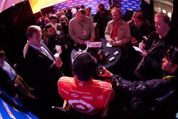 Juan Pablo Montoya, Earnhardt Ganassi Racing Chevrolet, media attention