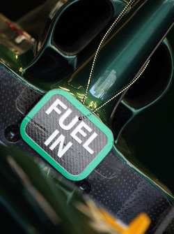 Fuel in the Lotus car