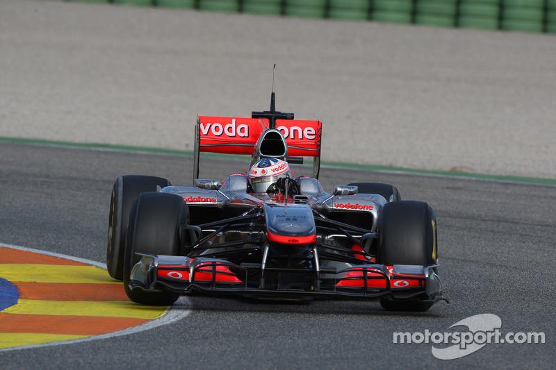 Gary Paffett, Test Driver, McLaren Mercedes in last years car