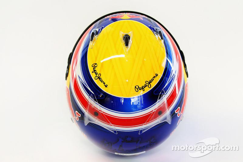 Mark Webber, Red Bull Racing helmet