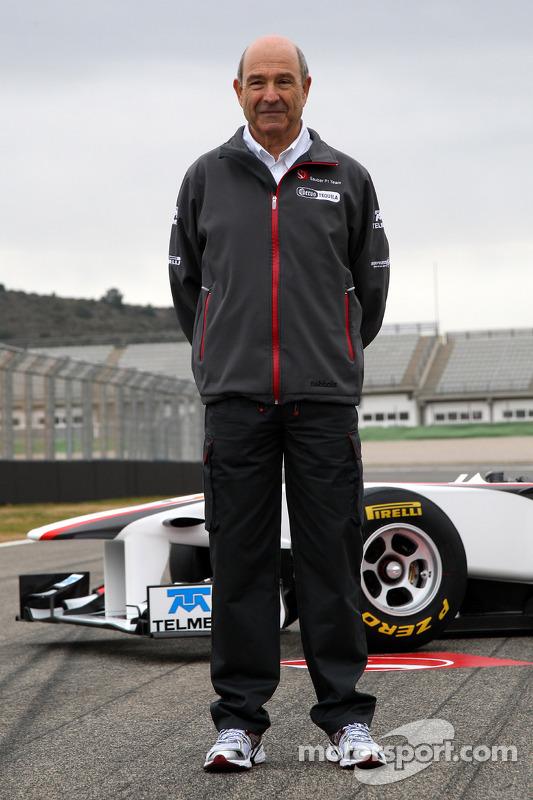 Peter Sauber, Sauber-Teamchef