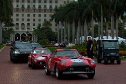 A Ferrari 250 GT heads to the streets of West Palm Beach