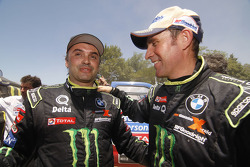 Ricardo Leal dos Santos and Stéphane Peterhansel