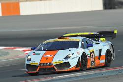 #83 Gulf Team First Lamborghini LP560: Fabien Giroix, Frédéric Fatien, Roald Goethe, Mike Wainwrigh
