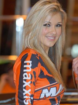 Maxxis Promo Girl