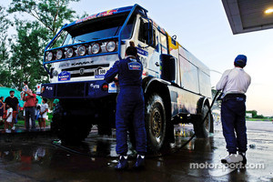 Cleaning of the #500 Kamaz