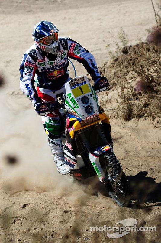 KTM-test voorafgaand aan scrutineering: Marc Coma