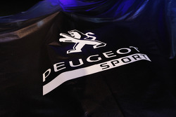 The 2011 Peugeot 908 under a veil