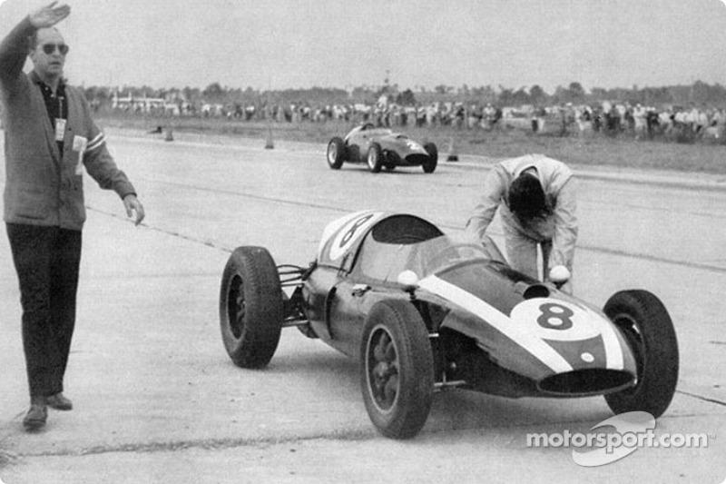 1959: No ganó la carrera, pero...