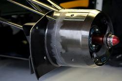 Team Lotus brake technical detail