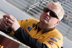 Roush Fenway Racing Ford crew member