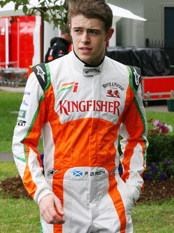 Paul di Resta, piloto de pruebas, Force India F1