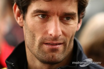 A disappointed Mark Webber