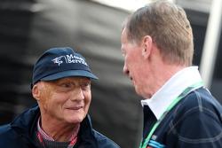 Niki Lauda und Walter Röhrl