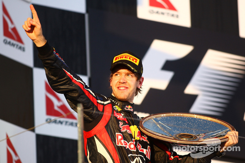 Sebastian Vettel (Red Bull), ganador GP Australia 2011