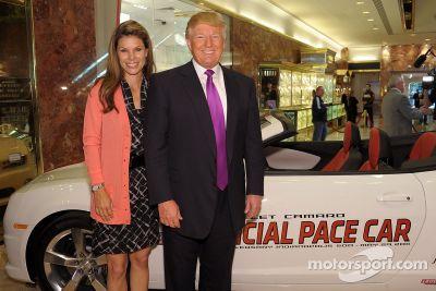 Donald Trump Indy 500 announcement