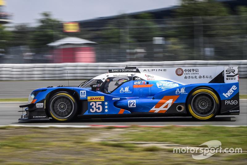 7. LMP2: #35 Baxi DC Racing, Alpine A460 - Nissan: David Cheng, Ho-Pin Tung, Nelson Panciatici