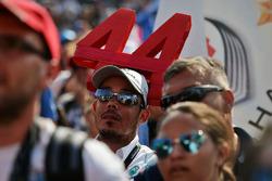 A Lewis Hamilton, Mercedes AMG F1 fan