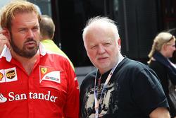 Gino Rosato, Ferrari con Norbert Vettel