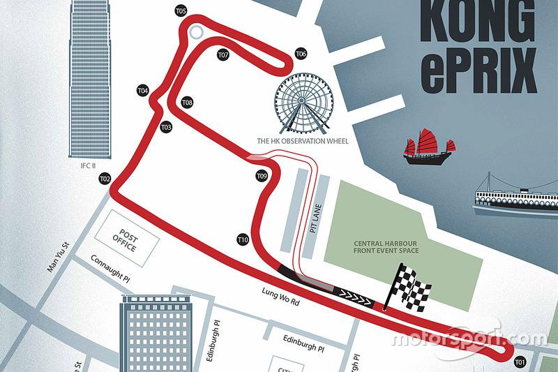 Diseño de circuito Hong Kong ePrix
