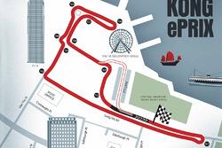 Hong Kong ePrix: Streckenlayout