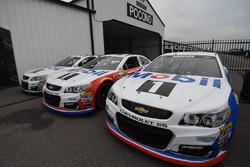 Esquemas de pintura de Mobil 1 en los coches de Stewart-Haas Racing