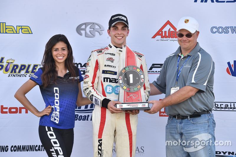 Carrera ganador Santiago Urrutia, Schmidt Peterson Motorsports
