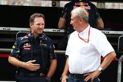 Крістіан Хорнер, керівник Red Bull Racing та доктор Гельмут Марко, радник Red Bull Motorsport