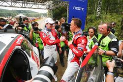Переможець Кріс Мік, Citroën DS3 WRC, Citroën World Rally Team, Крейг Брін, Citroën World Rally Team
