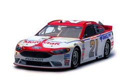 Ryan Blaney, Wood Brothers Racing Ford, livery rendering