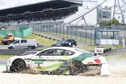 Kaza: #8 Bentley Team ABT, Bentley Continental GT3: Fabian Hamprecht, Christer Jöns