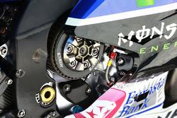 Jorge Lorenzo, Yamaha Factory Racing, dettaglio della frizione