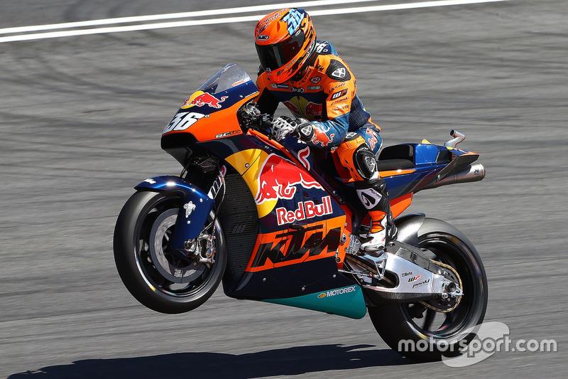 Mika Kallio, KTM MotoGP bike demonstration