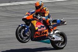 Démonstration de Mika Kallio, KTM MotoGP