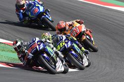 Jorge Lorenzo, Yamaha Factory Racing, Valentino Rossi, Yamaha Factory Racing, Marc Márquez, Repsol Honda Team