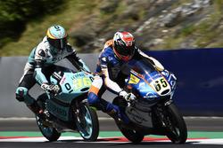Philipp Öttl, Schedl GP Racing, KTM; Joan Mir, Leopard Racing, KTM