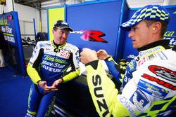 Kenny Roberts Jr., Team Suzuki, et Sete Gibernau, Team Suzuki