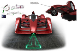 Ken Okuyama Design and Dome design proposal of next Formula E chassis