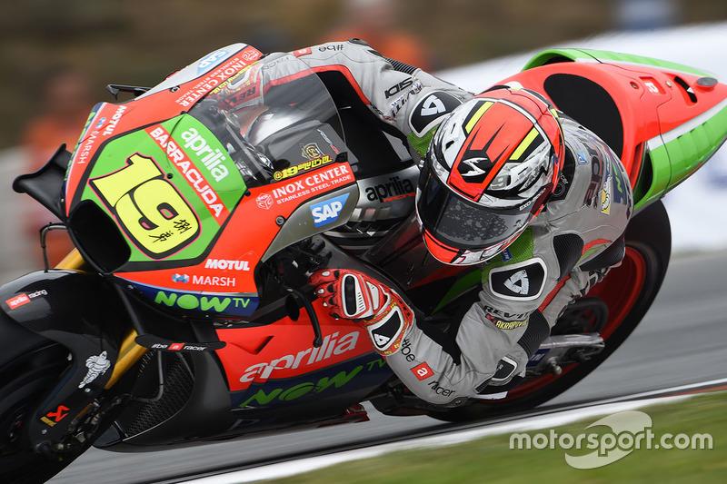 16. Alvaro Bautista, Aprilia Racing Team Gresini
