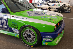 Classic BMW touring car driven by Andreas Bovensiepen