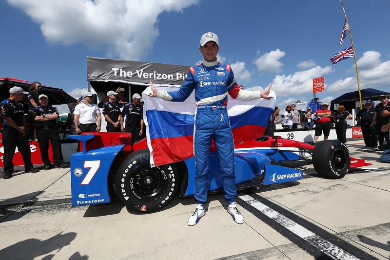 Его лучшим результатом за карьеру в IndyCar было прошлогоднее выступление на овале в Поконо, где он выиграл квалификацию...