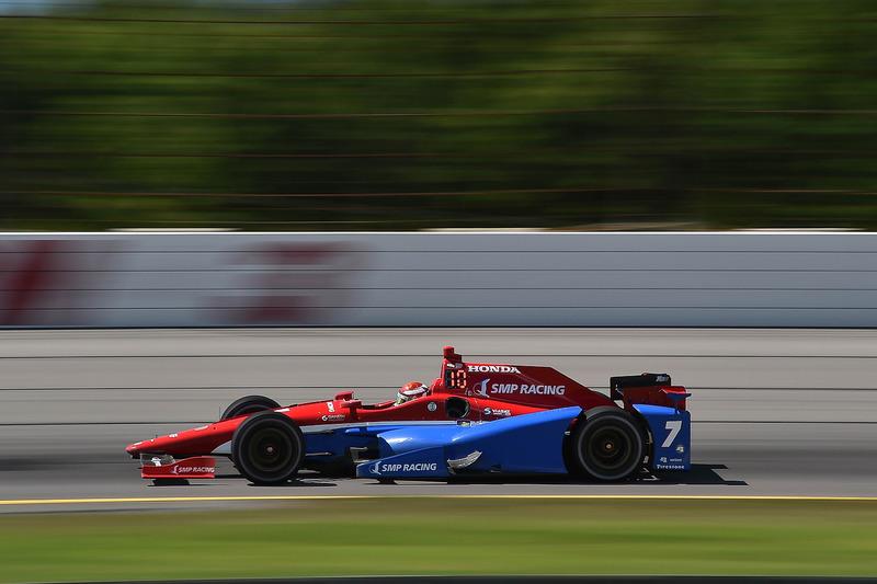Михайло Альошин, №7, Schmidt Peterson Motorsports Honda
