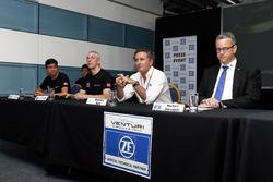 Autopräsentation von Venturi mit Alejandro Agag, Serienchef der Formel E
