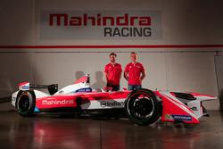 Mahindra Racing team presentation with drivers Felix Rosenqvist and Nick Heidfeld