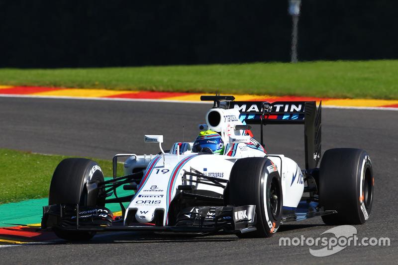 10º Felipe Massa, Williams FW38