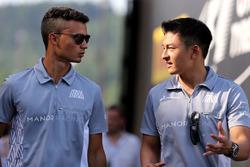 Pascal Wehrlein, Manor Racing und Esteban Ocon, Manor Racing