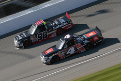 Christopher Bell, Kyle Busch Motorsports Toyota, Rico Abreu, ThorSport Racing Toyota