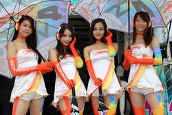 Lovely Goodsmile Racing girls