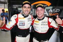 Polesitters #88 AKKA ASP Mercedes AMG GT3: Tristan Vautier, Felix Rosenqvist